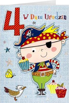Kartka na czwarte urodziny dla chłopca M 693-Maja