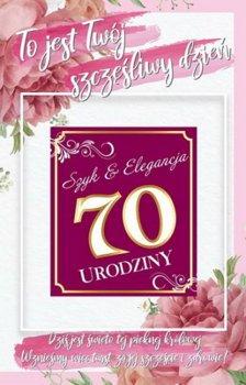 Kartka na jubileusz 70 urodzin 2K 06-yeku