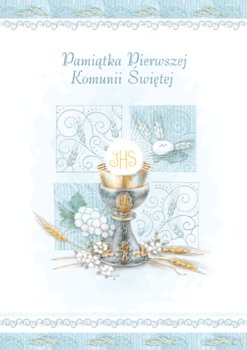 Kartka na komunię delikatna z tekstem, KD 7-Czachorowski