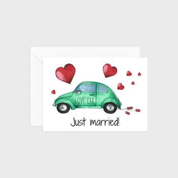 Kartka na ślub, Car of love