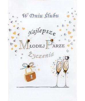 Kartka na ślub M 572-Maja