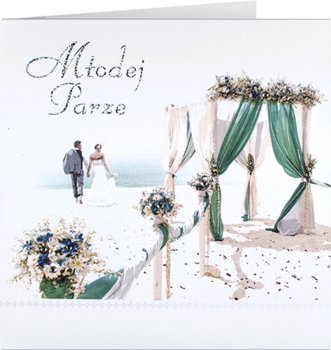 Kartka na ślub, M 658-Maja