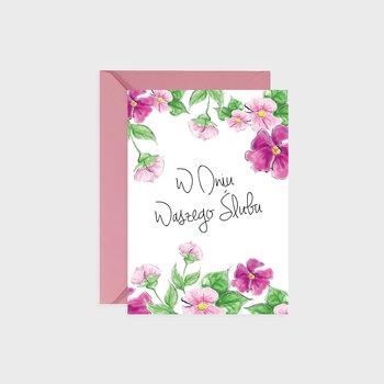 Kartka na ślub, Pink of love