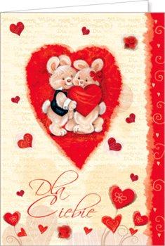 Kartka na Walentynki VL 22-Czachorowski
