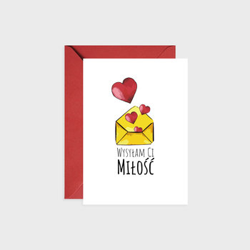 Kartka okolicznościowa, List miłosny