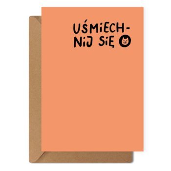 Kartka okolicznościowa Uśmiech + eko koperta-Munnar