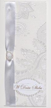 Kartka ślubna ręcznie zdobiona MRS 4-Maja