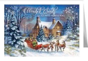 Kartka świąteczna z życzeniami B-T 596-Czachorowski