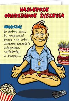 Kartka urodzinowa Comic 03-Stamp