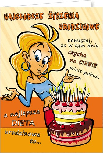 Kartka Urodzinowa Comic 05 Stamp Sklep Empik Com