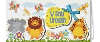 Kartka urodzinowa dla dziecka EZ 86-ENZO