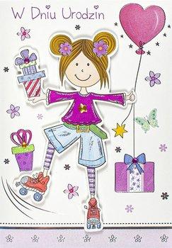Kartka urodzinowa dla nastolatki M 710-Maja
