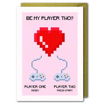 Kartka Walentynkowa, Player Two