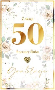 Kartka z okazji 50 rocznicy ślubu LUX 46-Armin Style