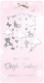 Kartka z okazji Chrztu św. dla dziewczynki PM 80-Kukartka