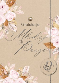 Kartka z życzeniami na Ślub GM 739-Armin Style