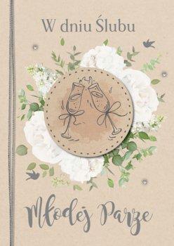 Kartka z życzeniami ślubnymi GM 741-Armin Style