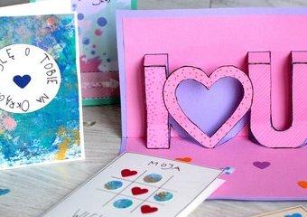 Kartki na Walentynki - wyznaj miłość w dobrym stylu