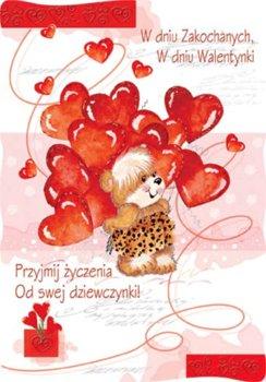 Kartki pocztowe walentynkowe PVL 3-Czachorowski