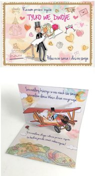 Kartki ślubne z humorem 3D PU-4-Kukartka