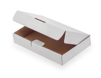 Karton fasonowy, biały, 230x155x41 mm