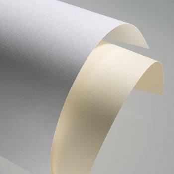 Karton ozdobny płótno, A4, biały-Galeria Papieru