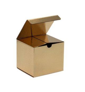 Karton wykrojnikowy 120x105x98mm f211 - złoty