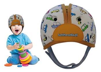 Kask ochronny do nauki chodzenia 7-24msc SAFEHEAD - auta -Safehead