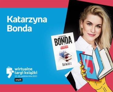 Katarzyna Bonda – PREMIERA   Wirtualne Targi Książki
