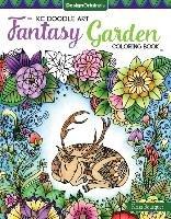 KC Doodle Art Fantasy Garden Coloring Book-Bousquet Krisa