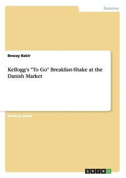 """Kellogg's """"To Go"""" Breakfast-Shake at the Danish Market-Bakir Beway"""