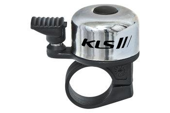 Kellys, Dzwonek rowerowy, Bang 10, srebrny-Kellys