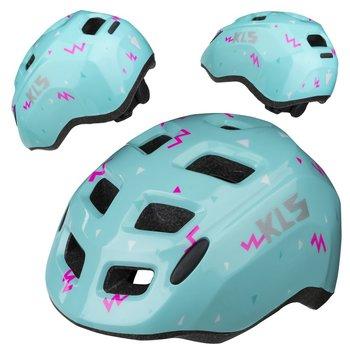 Kellys, Kask dziecięcy rowerowy, ZIGZAG, niebieski, rozmiar S-Kellys