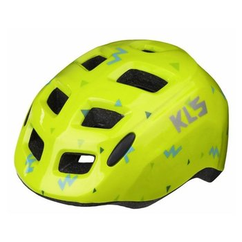 Kellys, Kask dziecięcy rowerowy, ZIGZAG, żółty, rozmiar S-Kellys