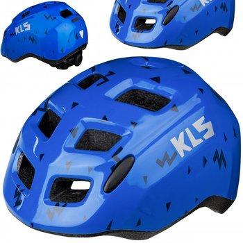 Kellys, Kask dziecięcy, ZIGZAG, niebieski S 49-53cm-Kellys