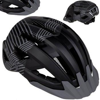 Kellys, Kask rowerowy, DAZE MTB z daszkiem, czarny, rozmiar L/XL-Kellys