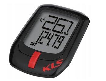 Kellys, Licznik rowerowy, Direct przewodowy, czarno-czerwony-Kellys