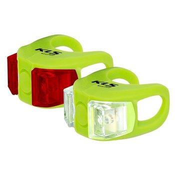 Kellys, Zestaw oświetlenia, Twins, zielony-Kellys