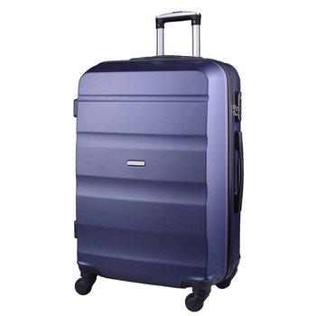 Kemer, Duża walizka, granatowa, AT01, rozmiar L-KEMER