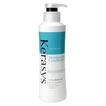 Kerasys, Hair Clinic Moisturizing, nawilżająca odżywka do włosów suchych i zniszczonych, 400 ml-Kerasys