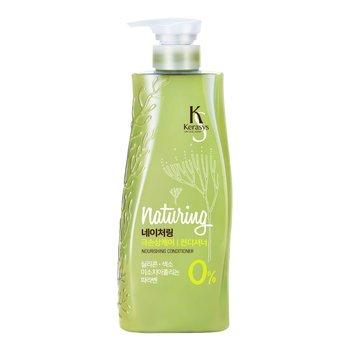 Kerasys, Naturing Nourising, odżywka do włosów cienkich i łamliwych z algami morskimi i oliwą z oliwek, 500 ml-Kerasys