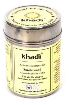 Khadi, maseczka sandałowa oczyszczająca, 50 g-Khadi