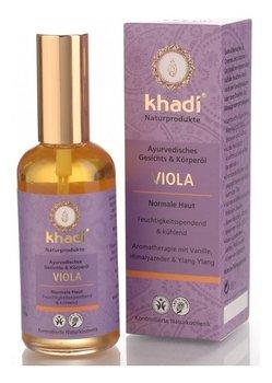 Khadi, Viola, ajurwedyjski olejek do twarzy i ciała, 100 ml-Khadi