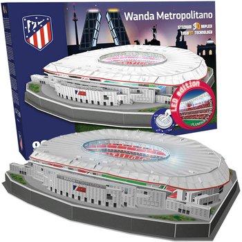 Kick Off Games, puzzle Model stadionu Wanda Metropolitano z podświetleniem -Kick Off Games