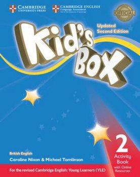 Kid's Box Level 2 Activity Book with Online Resources British English-Nixon Caroline, Tomlinson Michael