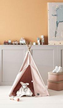 Kids Concept, Edvin, namiot Tipi Mini, różowy-Kids Concept