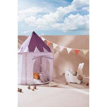 Kids Concept, namiot w gwiazdki lilac-Kids Concept