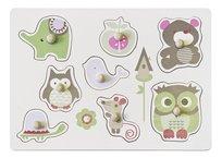 Kids Concept, puzzle Zwierzątka