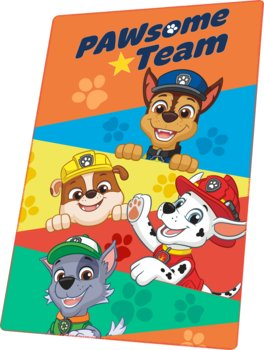 Kids Euroswan, Koc polarowy, Psi Patrol, 150x100 cm-Kids Euroswan