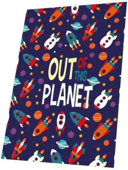 Kids Euroswan, Out of Planet, Koc polarowy, 150x100 cm, KL10319-Kids Euroswan